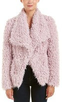 Betsey Johnson Betsy Johnson Fuzzy Coat.