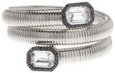 Vince Camuto Bezel Set Coil Bracelet