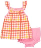Isaac Mizrahi Gingham Sundress & Bloomer Set (Baby Girls 0-9M)