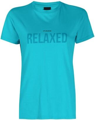Pinko Relaxed print T-shirt