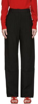 CHRISTOPHER ESBER Black Utility Trousers