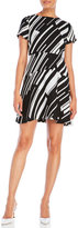 Vince Camuto Graphic Wave Sheath Dress