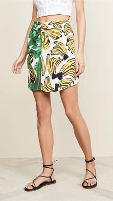 FARM Rio Amazonia Bossa Dual Miniskirt