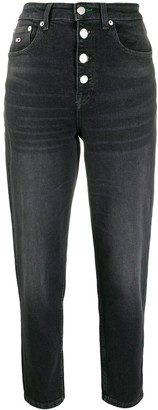 Tommy Jeans High-Rise Cropped Jeans