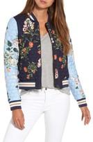 Parker Women's Combo Floral Print Jacket