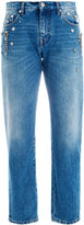 MSGM cropped jeans - women - Cotton/Polyester - 42