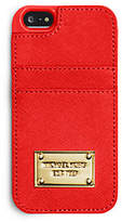 Michael Kors Saffiano Leather Pocket Smartphone Case