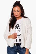 Boohoo Hannah Short Length Faux Fur Jacket