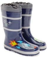 Kidorable Toddler Boy's 'Space Hero' Waterproof Rain Boot