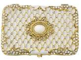 Olivia Riegel Imperial Compact Faux Pearl Clutch