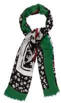 Dolce & Gabbana Woven Floral Print Scarf