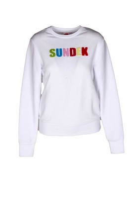 Sundek Embossed Sweatshirt - White - S