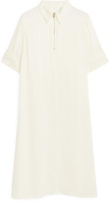 Arket A-Line Satin Dress