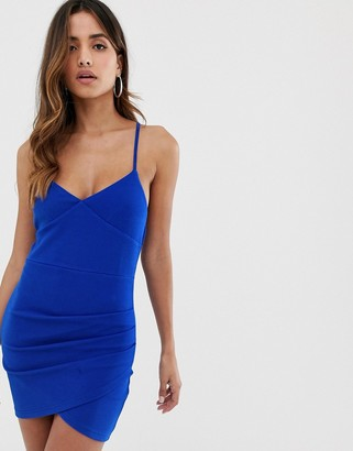 AX Paris bodycon dress in blue