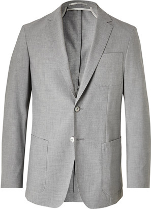 HUGO BOSS Nolvay Slim-Fit Melange Woven Suit Jacket