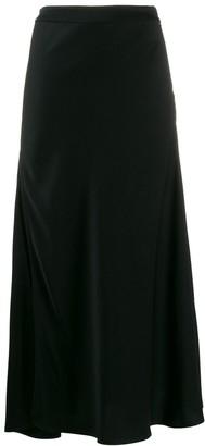Ellery Slit Draped Skirt