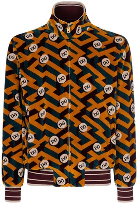 Dolce & Gabbana Jacquard Chenille Sweatshirt