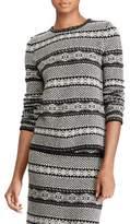 Lauren Ralph Lauren Fair Isle Wool and Cashmere Sweater