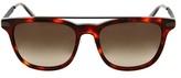 Bottega Veneta Tortoiseshell Square-frame Sunglasses
