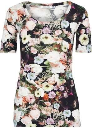 ADAM by Adam Lippes Floral-print Cotton-jersey T-shirt