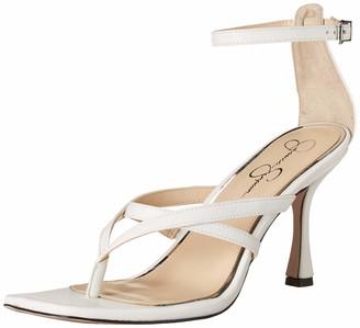 Jessica Simpson Opral Heeled Sandal Bright White 9.5