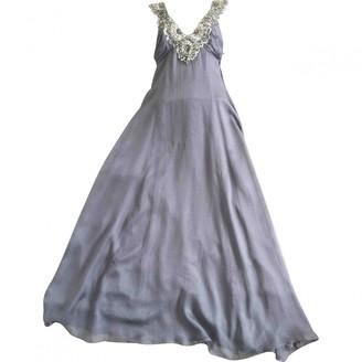 Jenny Packham Grey Silk Dresses