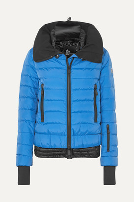 MONCLER GRENOBLE Vonne Quilted Shell Down Jacket - Blue