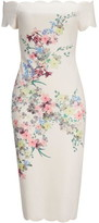 Ted Baker Trixiiy Pergola Bardot Bodycon Dress