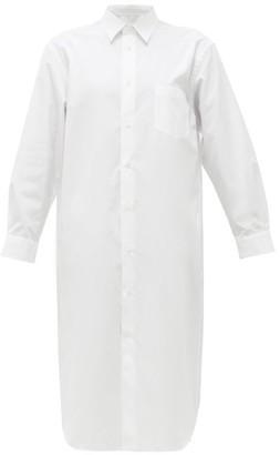 Junya Watanabe Cotton-poplin Shirt Dress - White