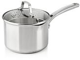 Calphalon Classic Stainless Steel Strain-and-Pour 2.5-Quart Saucepan