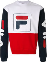 Fila logo colourblock sweater