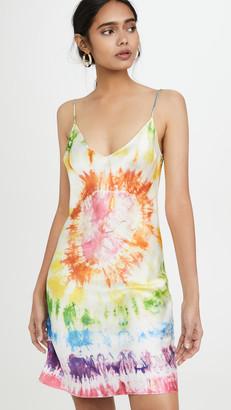 Dannijo Tie Dye Heart Mini Dress