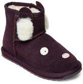 Emu Kids Girls) Purple Rabbit Mini Pull-On Boots