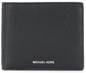 Michael Kors Greyson pebbled billfold wallet