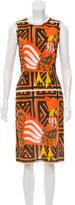 Prada Printed Midi Dress