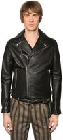 The Kooples Smooth Leather Biker Jacket