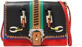 Paula Cademartori Tatiana embellished leather shoulder bag