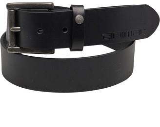 Animal Mens Leather Belt Black