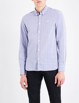 MAISON KITSUNÉ Regular-fit checked cotton shirt