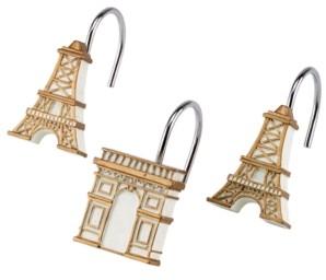 Avanti Paris Botanique Shower Hooks Bedding