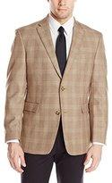 Tommy Hilfiger Men's PV Windowpane Plaid Sportcoat