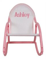 Hoohobbers Personalized Kids Rocking Chair