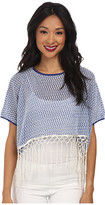 Kas Laila Knit Top with Tassles