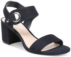 Bar III Birdie City Two-Piece Block-Heel Sandals, Created for Macy's Women's Shoes