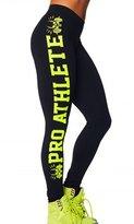 Dawafa Women's 3D Pattern Sport Leggings Work Out Fitness Gym Stretch Pants M