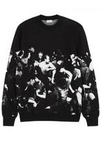 Dior Homme Black Intarsia Wool Jumper