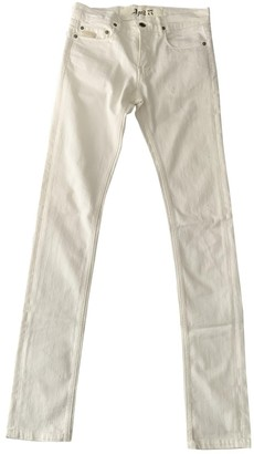 April 77 White Cotton Jeans for Women
