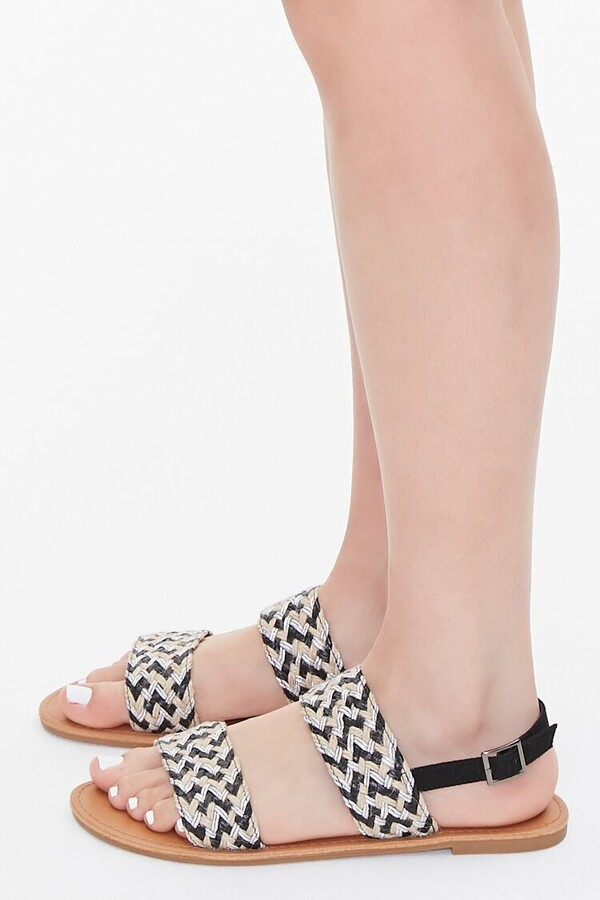 Thumbnail for your product : Forever 21 Jute Basketwoven Sandals