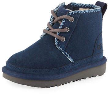 ed9feff300f Neumel II Suede Lace-Up Boots, Kids