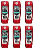 Old Spice Hardest Working Collection Dirt Destroyer Body Wash, Pure Sport Plus, 16.0 Ounce (Pack of 6)